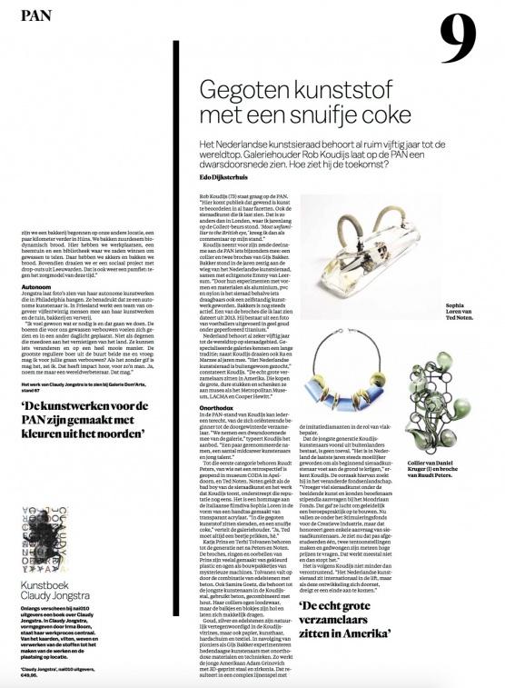 Interview met Rob Koudijs in Het Parool